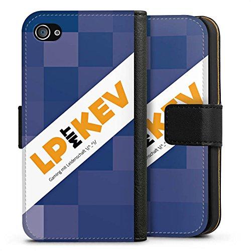 Apple iPhone X Silikon Hülle Case Schutzhülle LPmitKev Fanartikel Merchandise Youtuber Sideflip Tasche schwarz