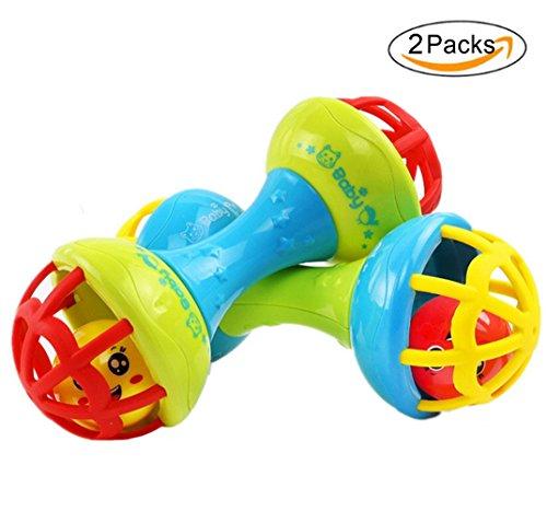 r Rassel Hantel Spielzeug Kleinkinder Geschenk (2 Yr Old Girl, Spielzeug)