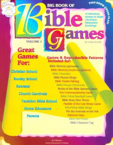 Big Book of Bible Games: Includes Bible Memory, Charades, Bingo, Dominos, Bible Spinner Games, Trivia, Pin the Animals on the Ark, and More. 16 (1996-03-06)