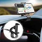 Tempo Supporto per cruscotto dell'automobile, Supporto Universale per Auto HUD Design Antiscivolo Compatibile per iPhone XR, XS Max, Huawei P30 PRO, P20 PRO, Mate 20, Samsung Galaxy S10