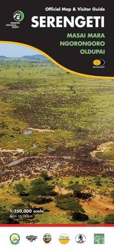 Serengeti: Official Map and Visitor Guide (African Map)