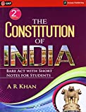 The Constitution of India: Bare Act with Short Notes