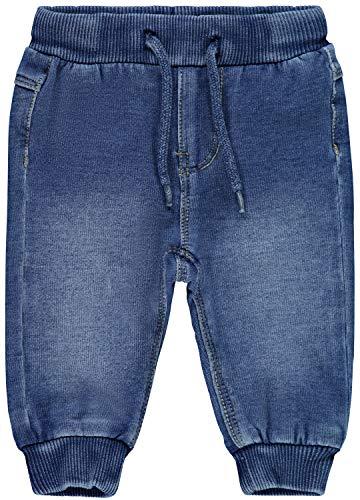 Name IT NOS Baby-Mädchen NBMROMEO DNMTRUEBO 2316 SWE Pant NOOS Jeans, Blau (Medium Blue Denim Medium Blue Denim), (Herstellergröße: 74)