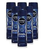 6x Nivea Cool Kick mens 48h anti-traspirante deodorante 150ml * * Bargain