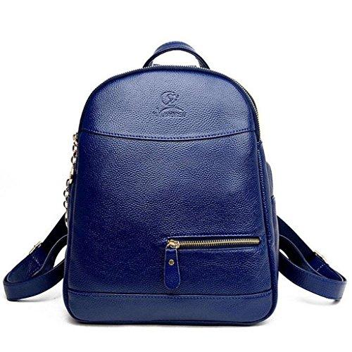 Y&F Reiserucksack Rucksack Schultertaschen Handtasche Freizeitpaket 28 * 14 * 33 Cm Blue