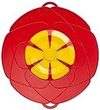 Original Kochblume - der Überkoch-Schutzdeckel mittel (Gundel) Farbe: rot-gelb