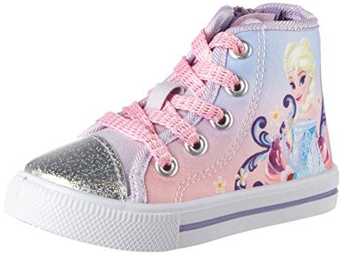 Die Eiskönigin - Fz003503, Pantofole a Stivaletto Bambina Pink (Silver/Lavender/White 314)