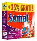 Somat Tabs Alles in 1Bremsbelagsatz Spülmittel für Spülmaschinen, 35Stück–[Pack 3]