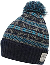 SoulCal Fishermans Hat NEW Beanie Black Mens Grey Blue Soul Cal
