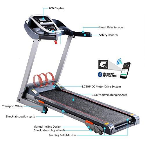Befied Treadmill With – Treadmills