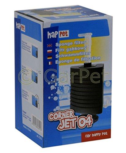 CORNER JET ECK Schwammfilter Innenfilter Biofilter Filter Filterschwamm Standfuß (Corner-Jet 04)