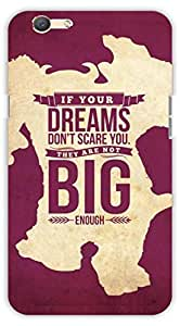 Crazy Beta English quote Printed mobile back cover case for Oppo F1 S