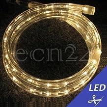 Cordon lumineux LED au mètre blanc chaud