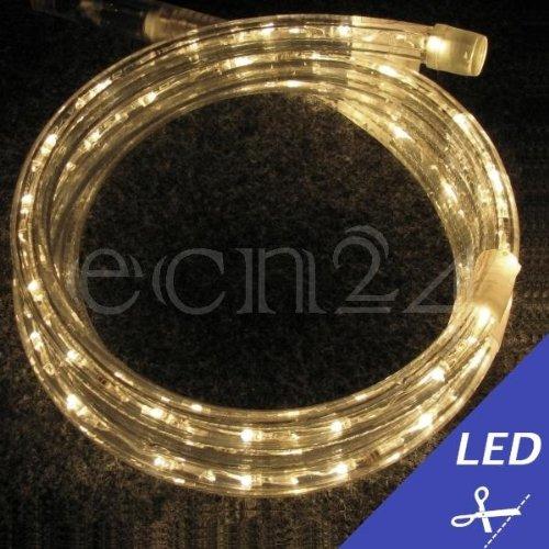 LED Lichtschlauch Meterware warmweiss je 1 m kürzbar