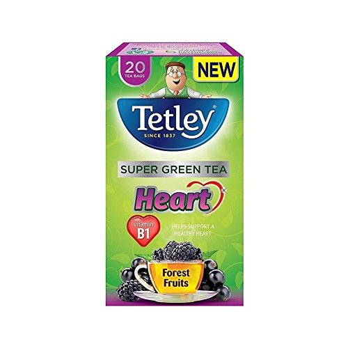 A photograph of Tetley Super Green tea