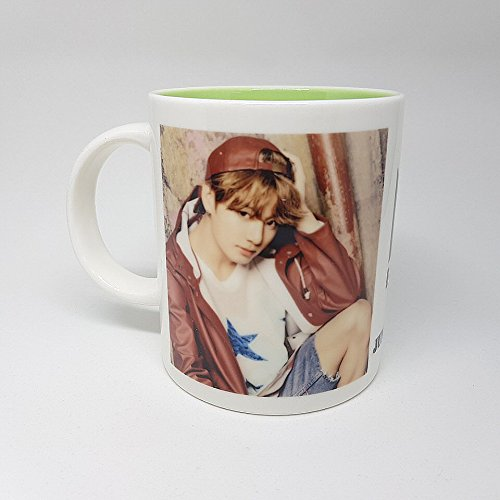 BTS Bangtan Boys JUNGKOOK Mug Cup Ceramic Army Wife Sweatshirt
