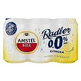 24 x Amstel Radler 0% Citroen/Zitrone (24 x 0,33L EU-Dosen) Alkoholfrei