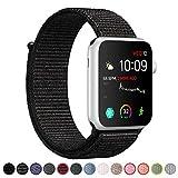 VODKER Cinturino Per Apple Watch 38mm 42mm, Morbido Nylon Cinturini Per iWatch Apple Serie 3, Serie 2, Serie 1, Watch Nike+, Apple Edition, Apple Watch Hermes