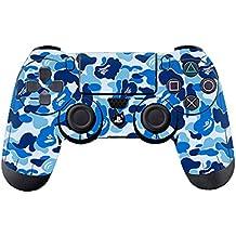Morbuy PS4 Controller Skin Diseñador Piel Pegatina para Sony PlayStation 4 PS4 Slim PS4 Pro DualShock mando inalámbrico x 1 (Graffiti Blue)