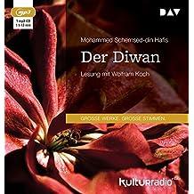 Der Diwan: Lesung mit Wolfram Koch (1 mp3-CD)