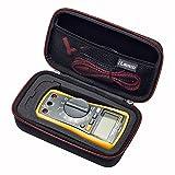 RLSOCO caso para el Multímetro Digital Crenova /FlePow /Aidbucks /Tacklife DM08 /Mastech/ Proster/Fluke 117/116/115/103 Multímetro y más