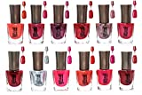 #1: Flicker London Trendy Colors Nail Enamels - Combo Of 12 Pcs(Light-2)