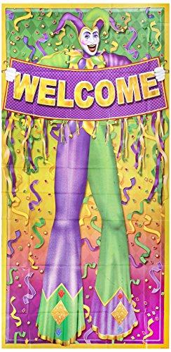 Beistle 57320Mardi Gras Tür, 30Geschenkpapierrolle 150cm