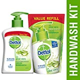 #2: Dettol Aloe Vera Liquid Handwash - 200 ml with Refill - 175 ml