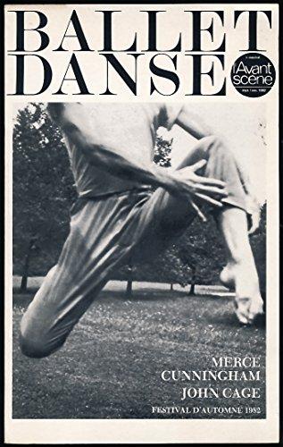 L'avant-scène Ballet Danse N° 10, Septembre-Novembre 1982 : Merce Cunningham, John Cage par Collectif