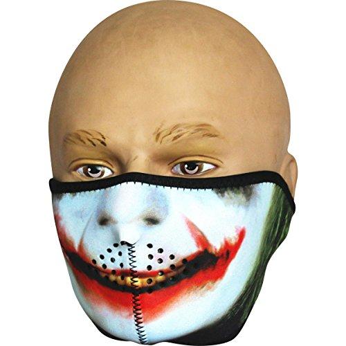Viper neopreno media Cara Máscara de calavera de Joker