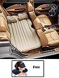 HSR Car Travel Inflatable Car Bed Mattress with Two Air Pillows, Car Air