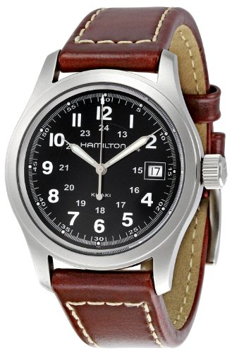 Hamilton Men's Automatic Watch with Black Dial Analogue Display - H39515733