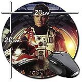 The Martian Matt Damon Marte A Tapis De Souris Ronde Round Mousepad PC