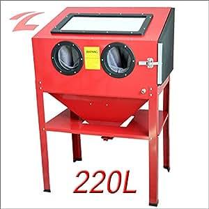 ZNL NEU Sandstrahlkabine Sandstrahlgerät 220 Liter CPS02