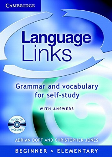 Language Links Book and Audio CD Pack: Grammar and Vocabulary for Self-study: Grammar and Vocabulary Reference and Practice by Adrian Doff (24-Mar-2005) Paperback