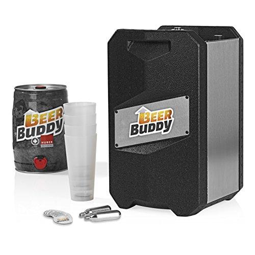 Beer Buddy - Bottoms Up von Jörg Blin - Bierzapfanlage ohne Strom für alle handelsüblichen 5 Liter Fässer- Der Party Knaller aus Kickstarter inkl. Zubehör u. Becher
