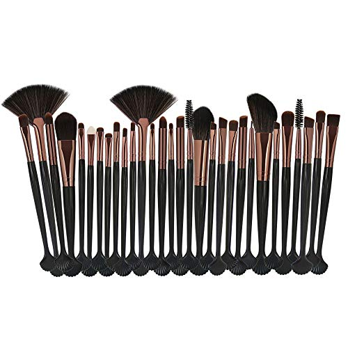 Aktivkohle-bulk (HARRYSTORE 30 stücke Kosmetik Make-Up Pinsel Rouge Lidschatten Pinsel Set Kit)