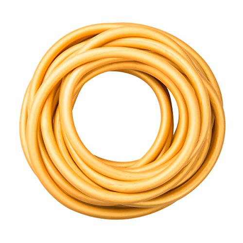 Power Tube, Widerstandstrainer für funktionales Training, Länge 7,6 m, Cando® Exercise Tube, gold (ultra schwer) (Cando-übungsband)