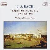 Bach: englische Suiten 1-3 Rübsam