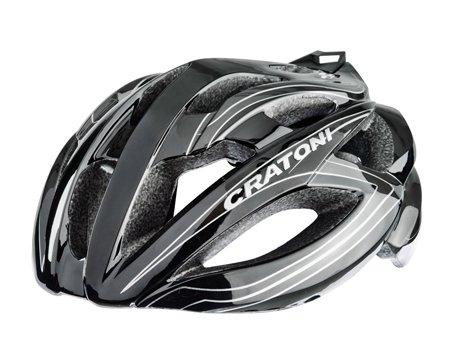 Rennradhelm Fahrradhelm Cratoni C-Bolt black-silver