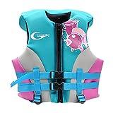 Schwimmer Jacke für Jungen Mädchen - Kleinkind Bademode Schwimmtraining Kinder Babe Trainer Weste Aufblasbar Jacke Schwimmen Lernen Unisex Grün