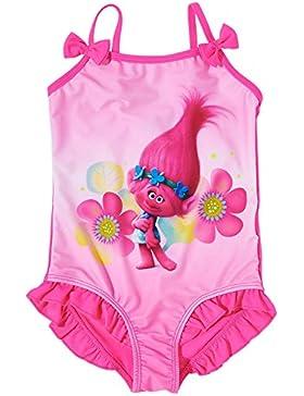 Trolls Mädchen Badeanzug - lila