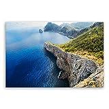 GE CREA Lienzo-Mallorca Veces Anders-España-2110ii, algodón, 120 x 80 cm