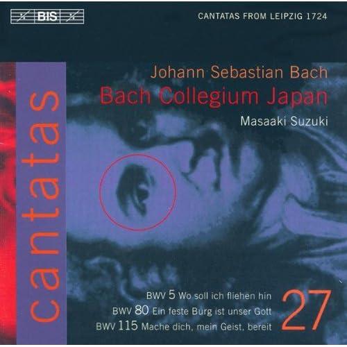 Wo soll ich fliehen hin, BWV 5: Recitative: Der Sunden Wust hat mich nicht nur befleckt (Bass)
