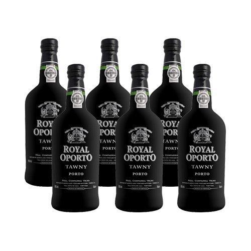 Vino di OPorto Royal Oporto Tawny - Vino Liquoroso - 6 Bottiglie