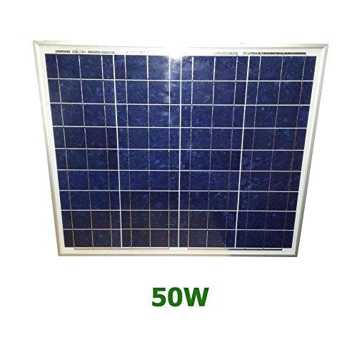 Panel solar de 50 watios poly