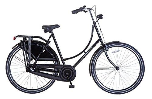 28 Zoll Damen Fahrrad Hollandrad Schwarz 3 gang Shimano Rh:57cm