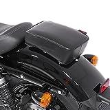 Sozius Saugnapf Sitzpad für Harley Davidson Softail Slim (FLS) Craftride Flat Head schwarz