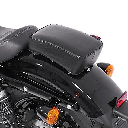 Sozius Saugnapf Sitzpad Triumph Rocket III Touring Craftride Flat Head schwarz