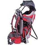 NEVERLAND® KOALA/KANGOO Mochila para transporte de Niños | Mochila porta bebé | Portabebés | Portador de Bebé | TÜV comprobado | Calidad Premium | Ligero, Model:Koala